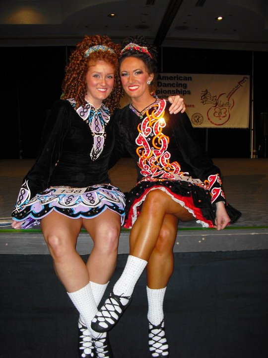 Competition friend Kaleigh J. and I at Nationals 2011 in Nashville, TN. Kaleigh is also a teacher now.