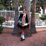 My award at one of my last few feiseanna, Feis in the Desert, January 2012